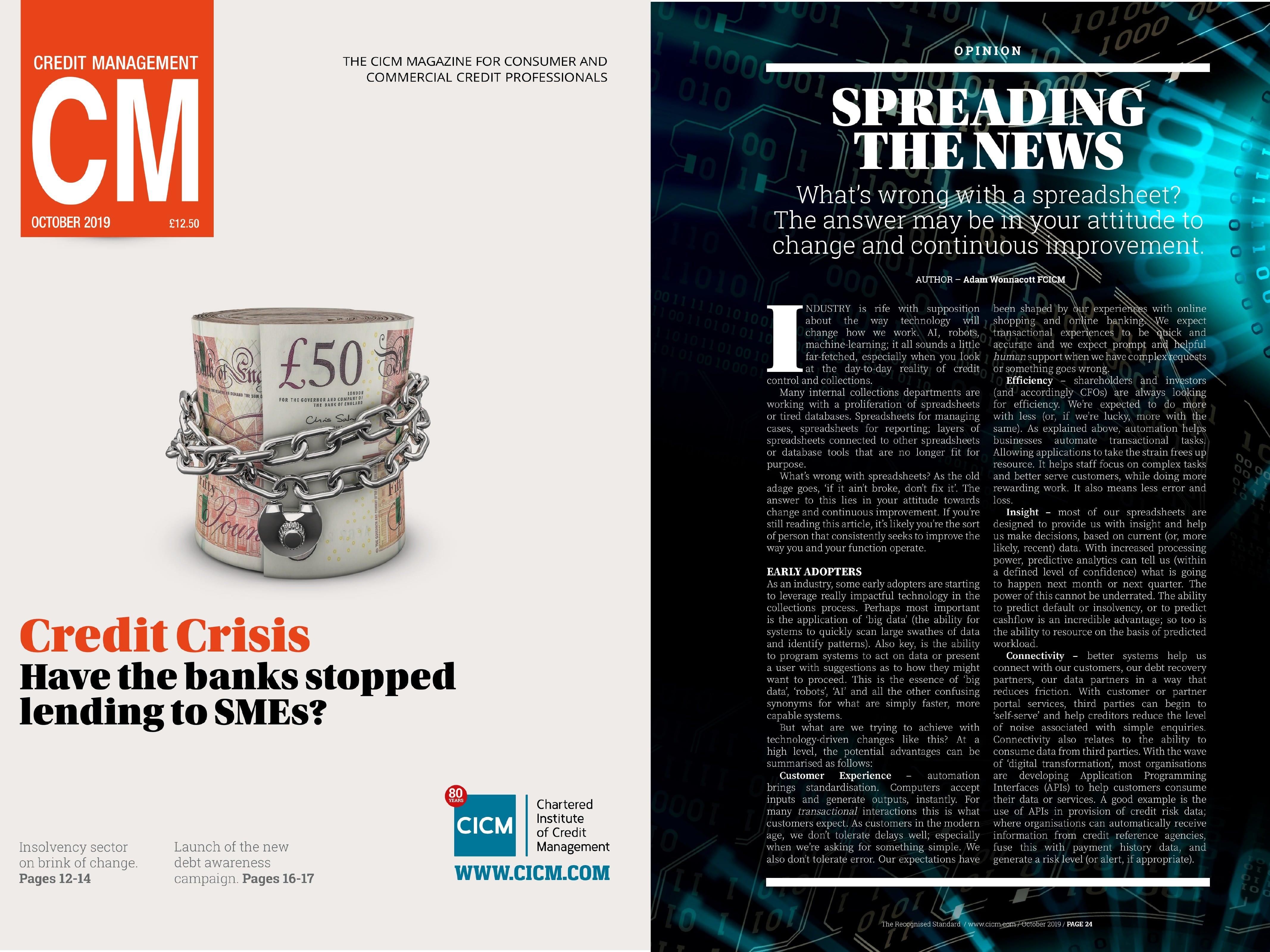 CM Magazine Cover
